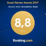 B&B 2017 – booking award