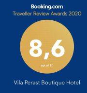 Vila Perast 2020 – booking award