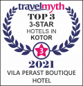 Travel Myth 2021 – Top 3Star Hotel VP