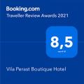 Booking 2021 – Vila Perast