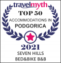 Travel Myth 2021 – Top 50 accommodations B&B